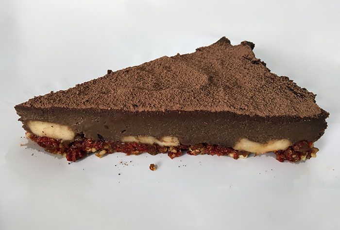 Presno čokoladna (veganska) torta
