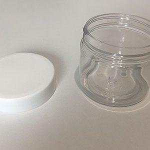 Plastični lonček s pokrovom 50 ml