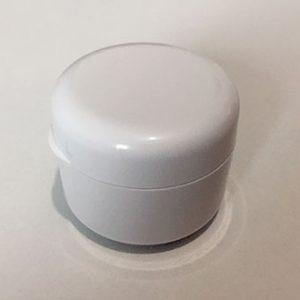 Plastični lonček s pokrovčkom 5 ml