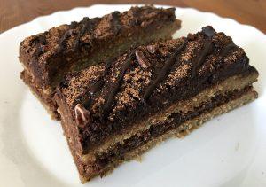 Veganska Čokoladna, Ovsena potica