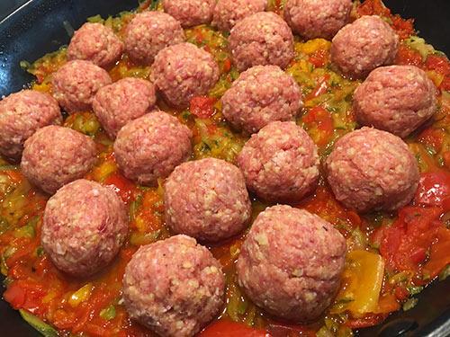 recept za Čufti v omaki