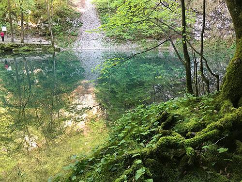 Divje jezero v idriji
