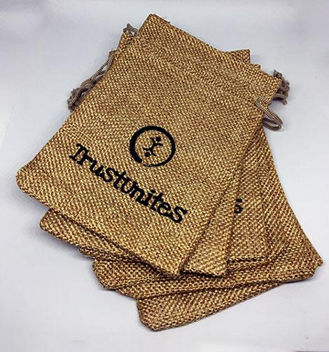 Darilne vrečke iz blaga 5+1kos