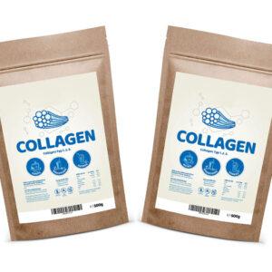 Hidrolizirani kolagen tipa 1, 2 in 3 (PAKET 1+1)